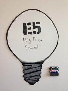 Dry Erase Idea Board